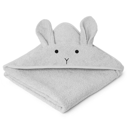 Liewood Augusta Rabbit håndklæde, Dumbo Grey