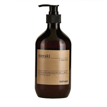 Meraki Bodywash, Cotton Haze