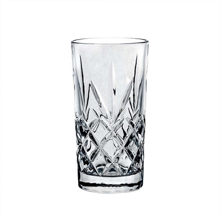 Cigzag Casper Highball glas, 6 stk.