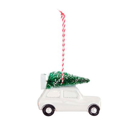House Doctor Car  julepynt m/ juletræ, kort