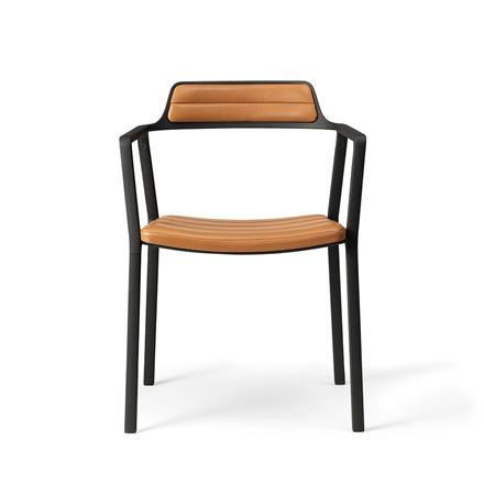Vipp 451 stol, læder