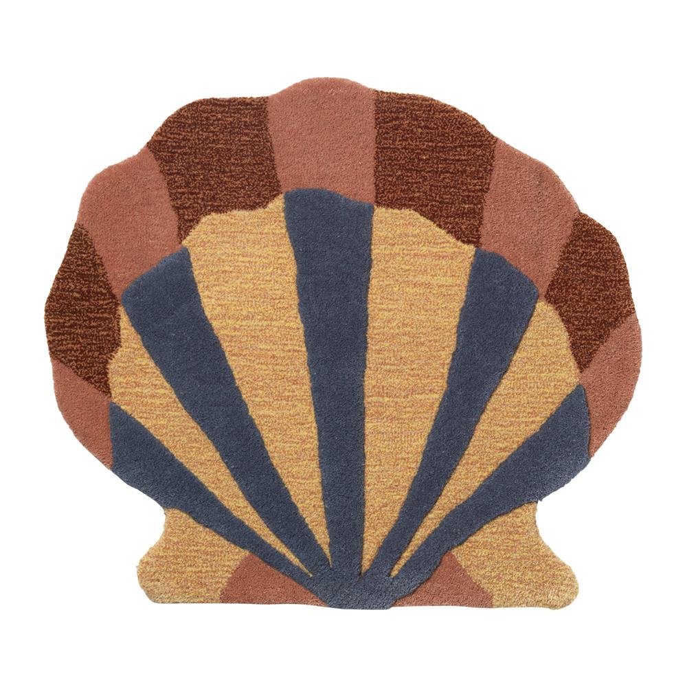 Ferm Living Tufted Deco tæppe - Shell