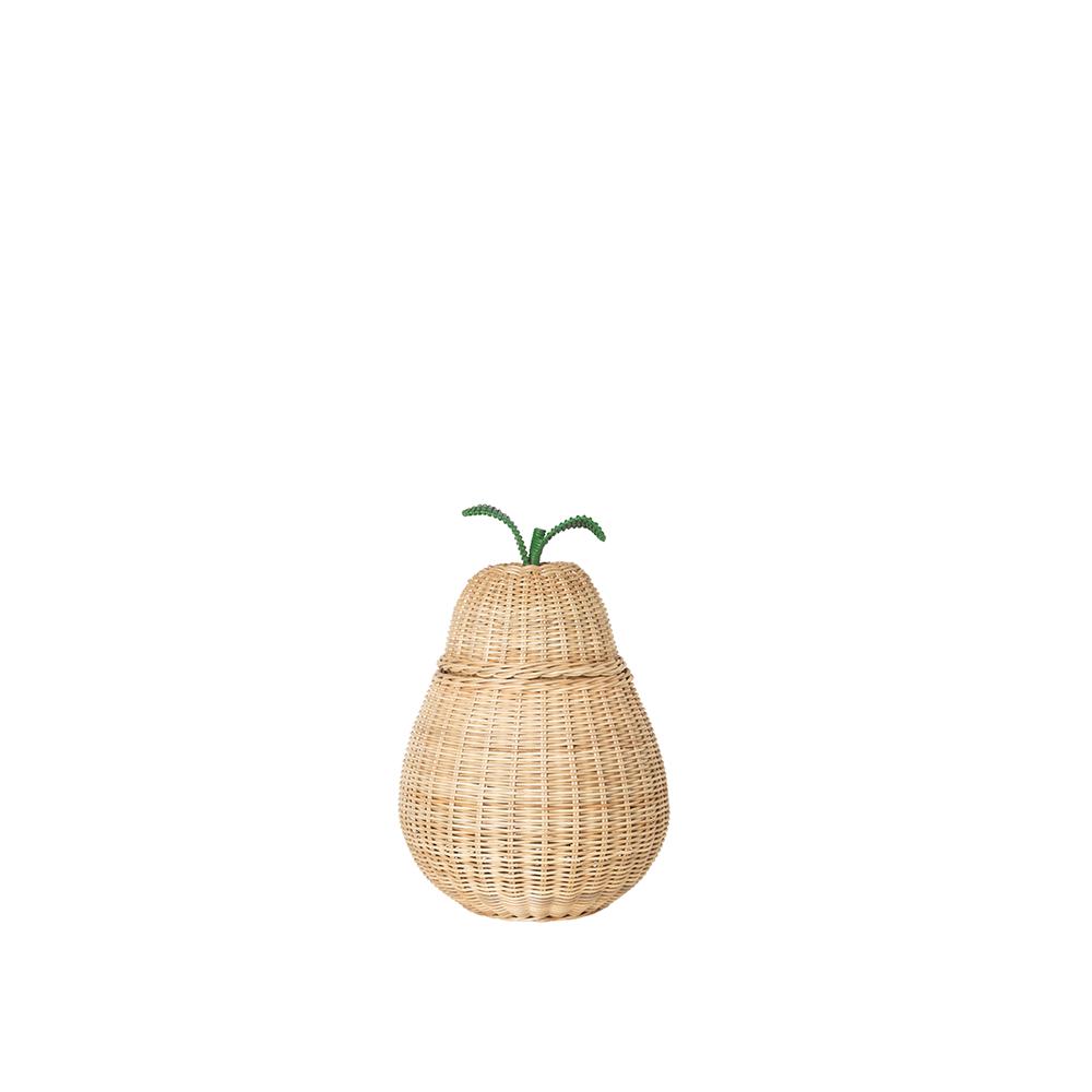 Ferm Living Pear Braided Storage i small, opbevaringskurv