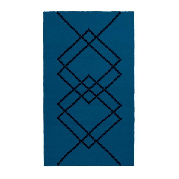 Louise Roe Rug Borg gulvtæppe, Royal Blue