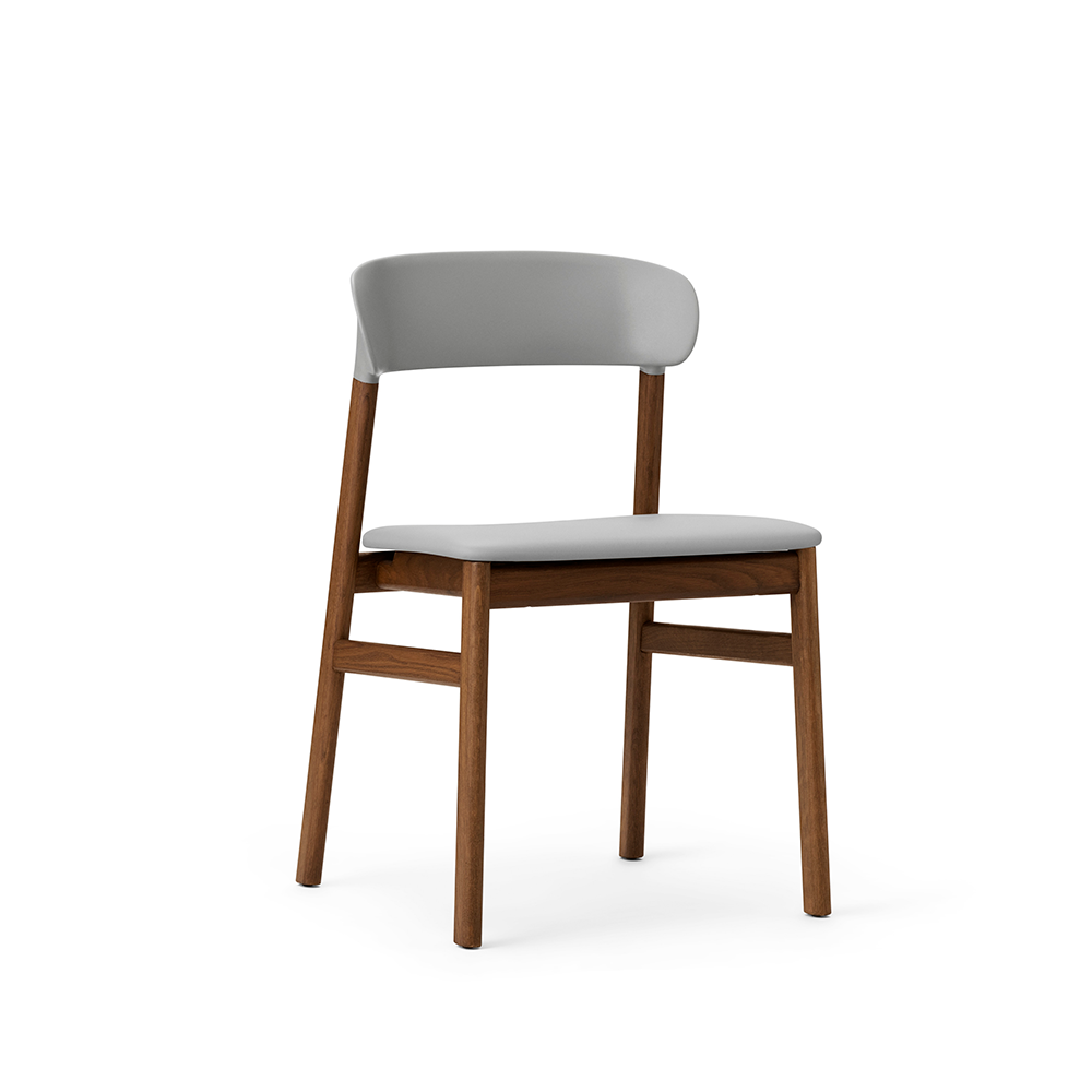 Normann Copenhagen Herit stol, røget eg / læder