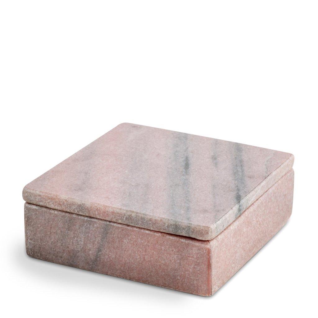 Nordstjerne koralrød marmor boks, small