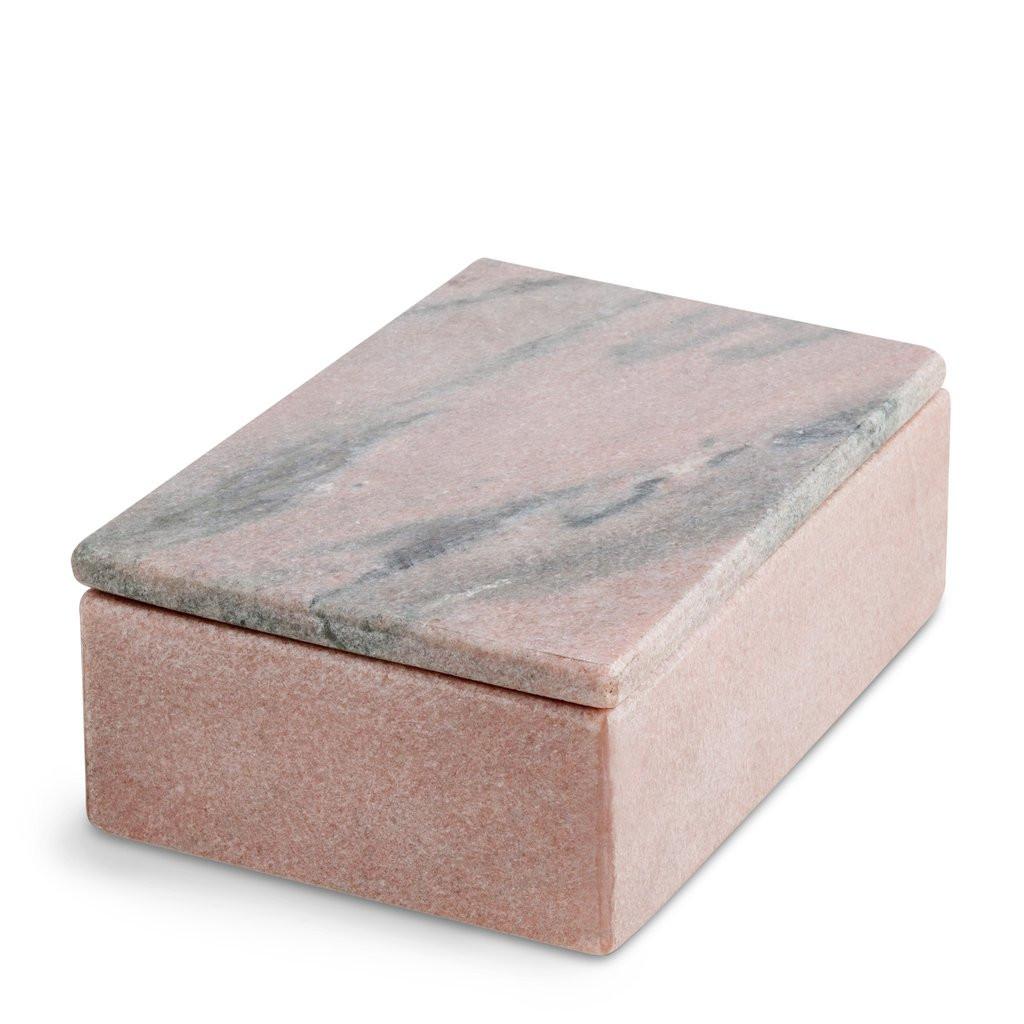 Nordstjerne koral marmor boks, large