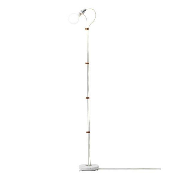 New Works Five Floor lamp gulvlampe i hvid