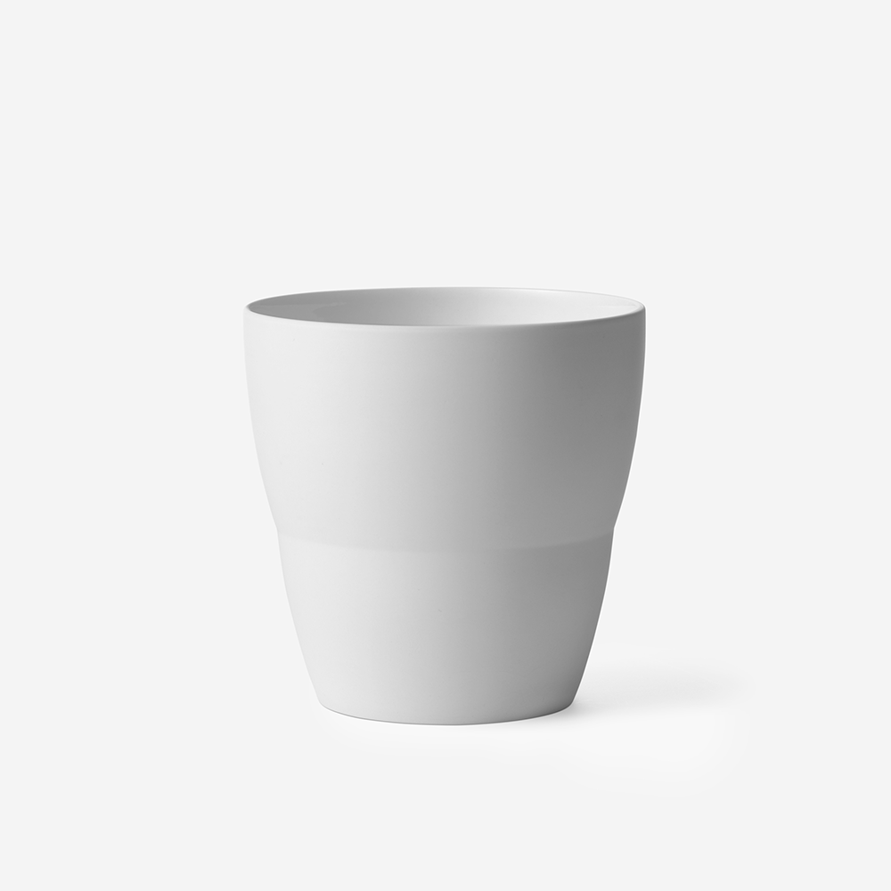 Vipp 220 Ceramic pot, hvid