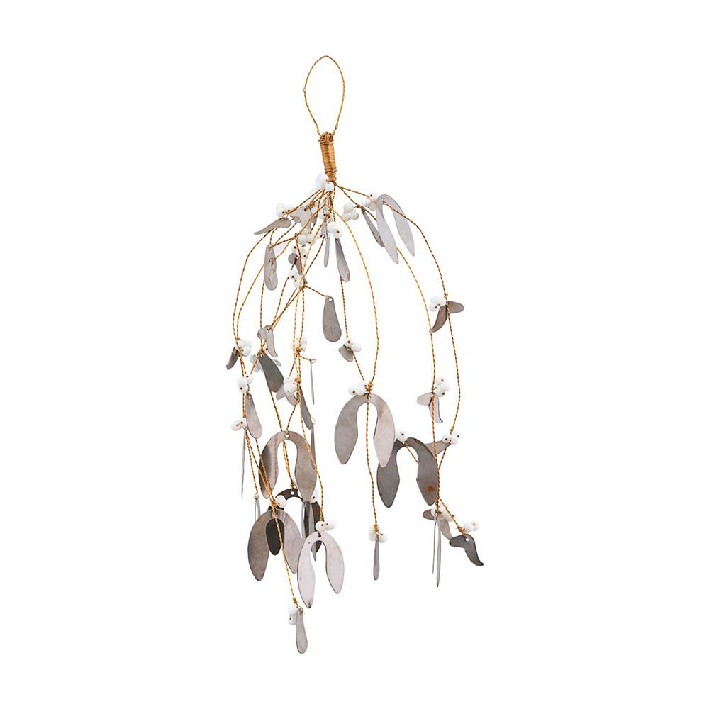 House Doctor Ornament mistelten i metal, stor