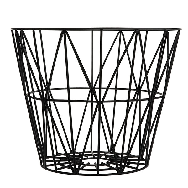 Ferm Living Wire Basket, Sort