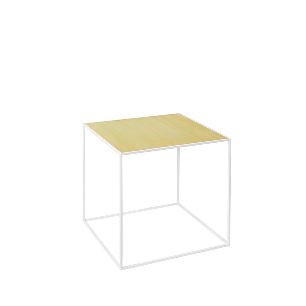 by Lassen Twin 35 Table - bord, hvid base