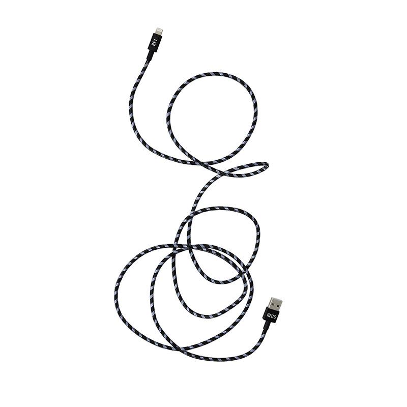 Design Letters Opladekabel iPhone 1,85m