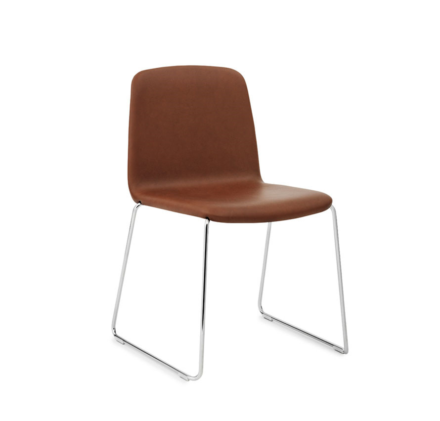 Normann Copenhagen Just Chair, læder