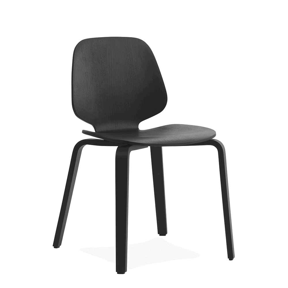 Normann Copenhagen My Chair i sort ask
