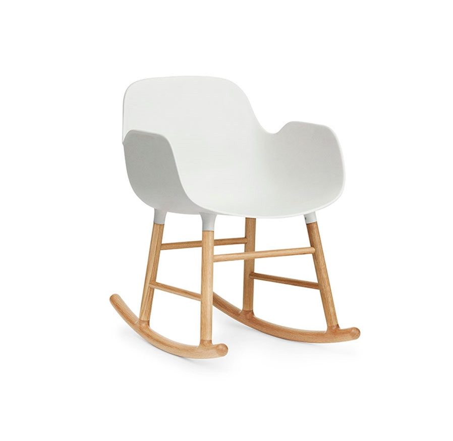 Normann Copenhagen Form Rocking Armchair, Eg