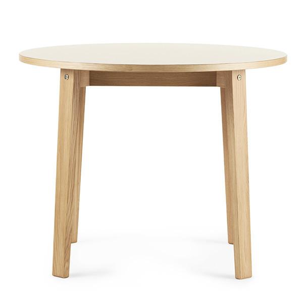 Normann Copenhagen Slice Table m/ linoleum, Ø95cm
