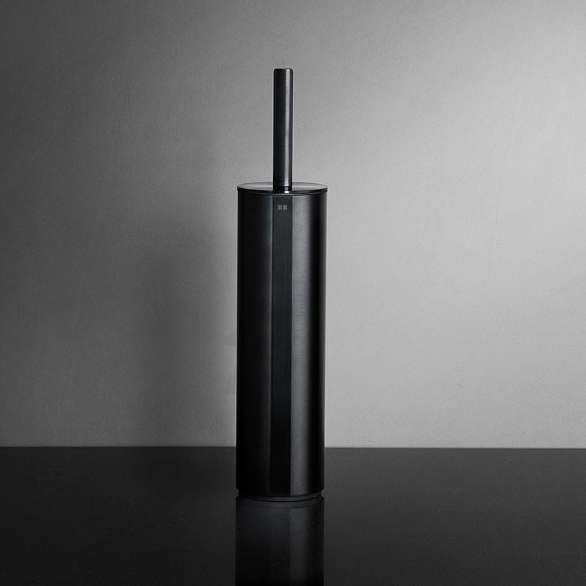 Unidrain Reframe toiletbørste t/gulv, sort