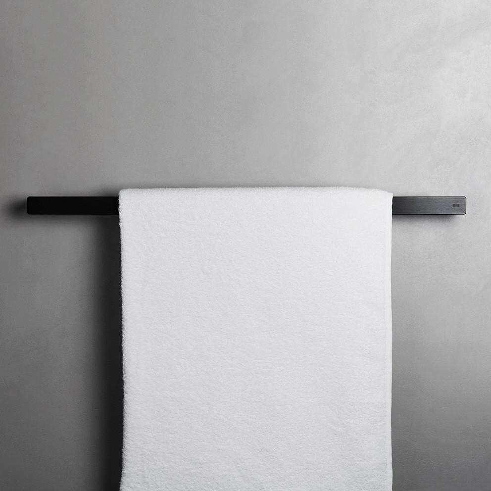 Unidrain Reframe håndklædestang model 600, sort
