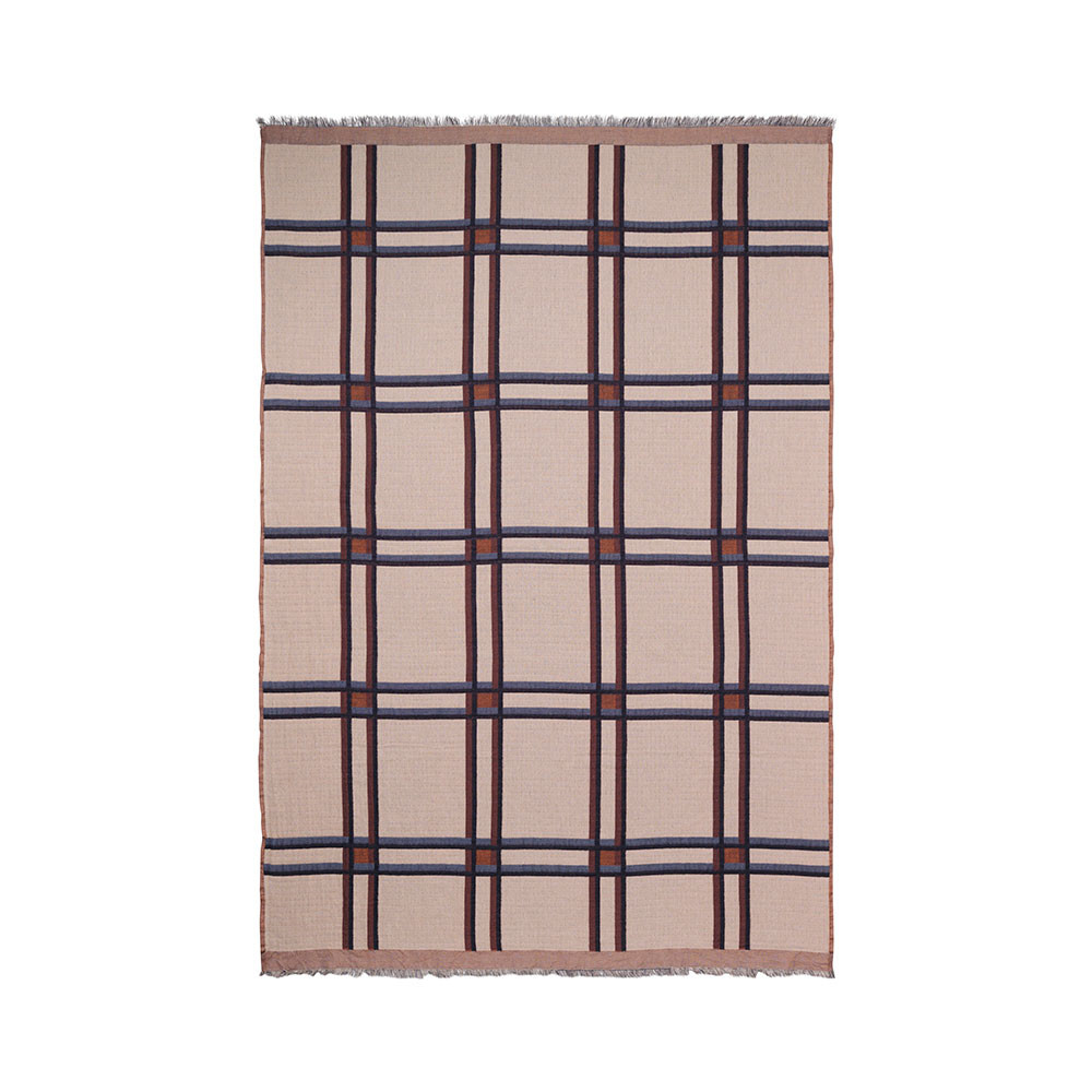 Ferm Living plaid, beige
