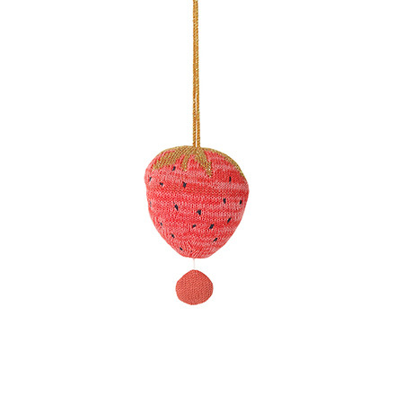 Ferm Living Fruiticana Strawberry Music Mobile