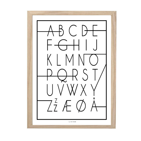 Livink plakat ABC ZZZ A3