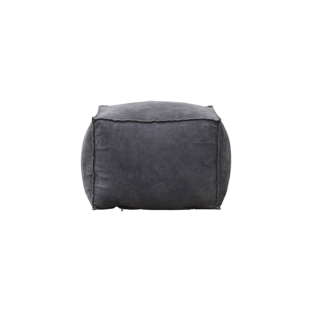 House Doctor Suede Puf i læder, medium