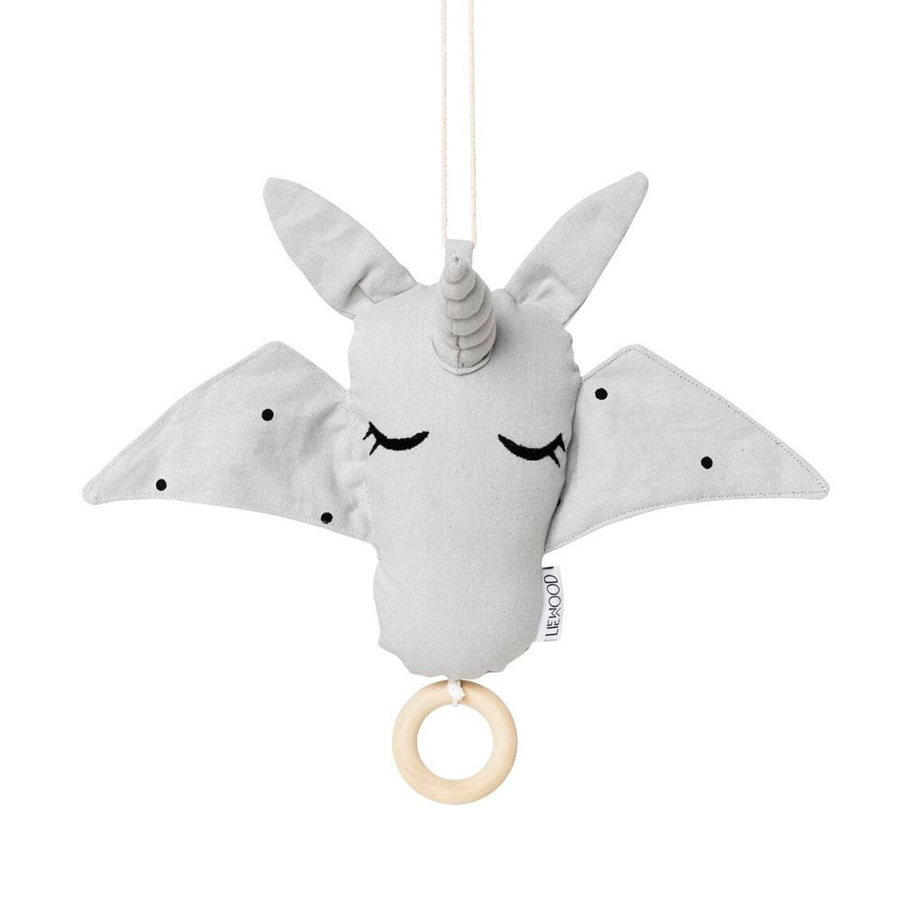 Liewood Music Mobile Unicorn, Dumbo Grey
