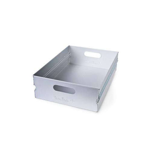 Bordbar skuffe i aluminium