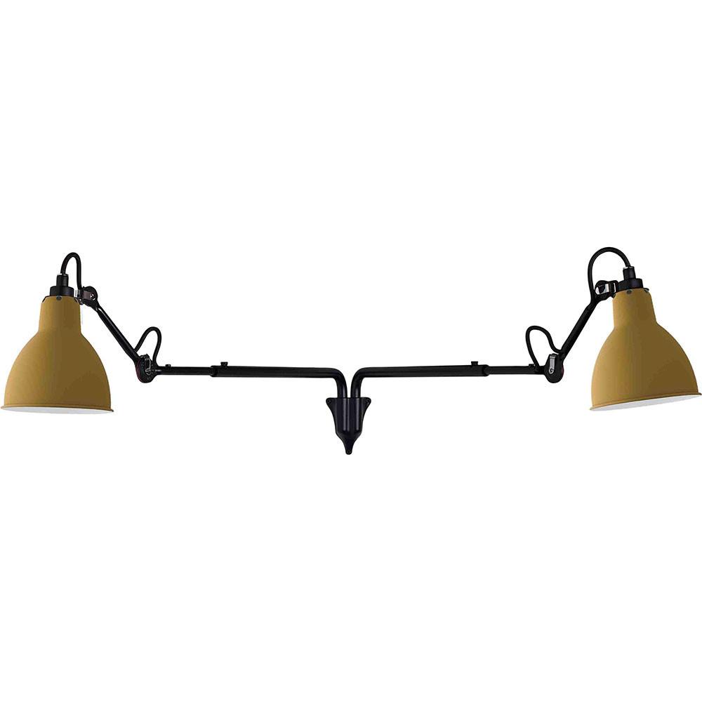 Lampe Gras N°203 double væglampe