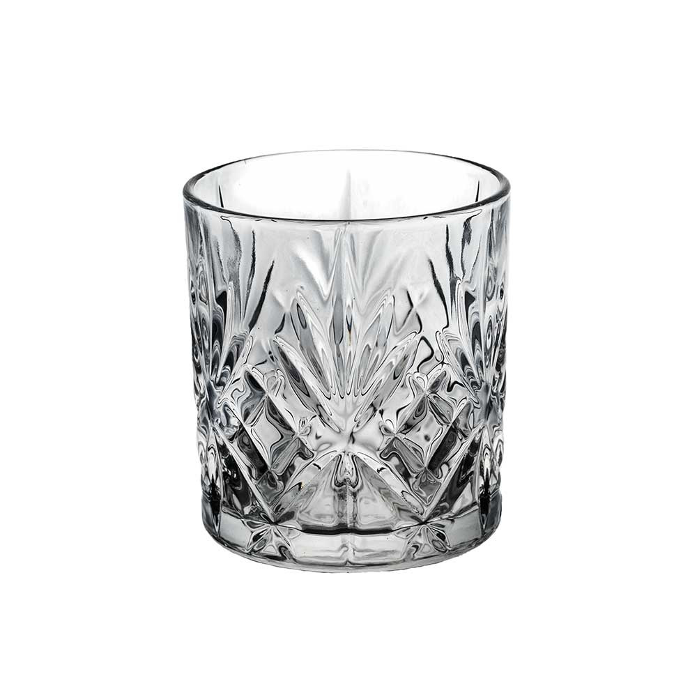 Cigzag Oda Lowball glas, 6 stk.