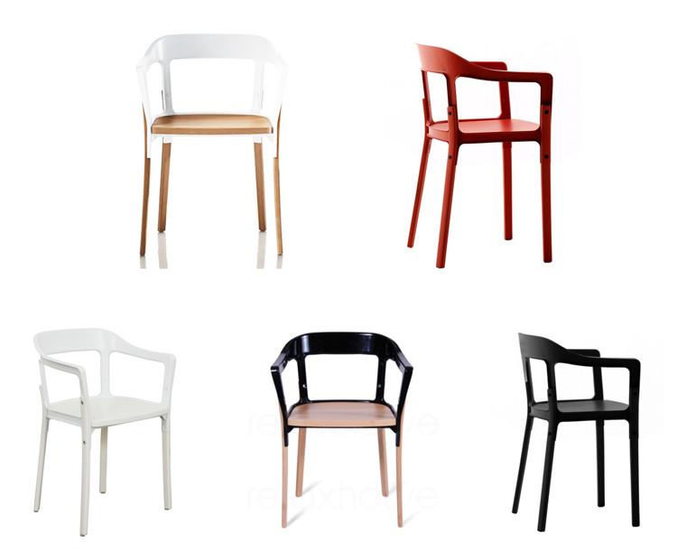 Magis Steelwood Chair stol