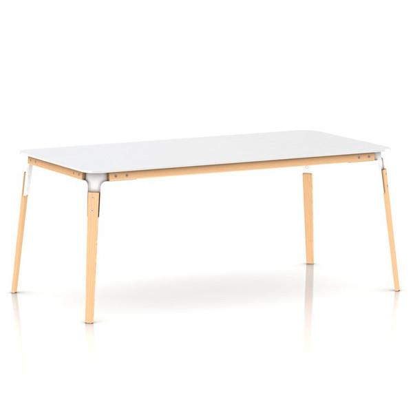 Magis Steelwood Table bord, rektangulær