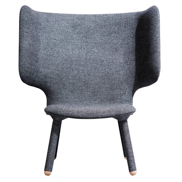 New Works Tembo Lounge Chair i grå