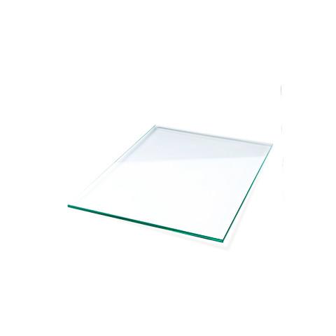 Bordbar glashylde i klar glas