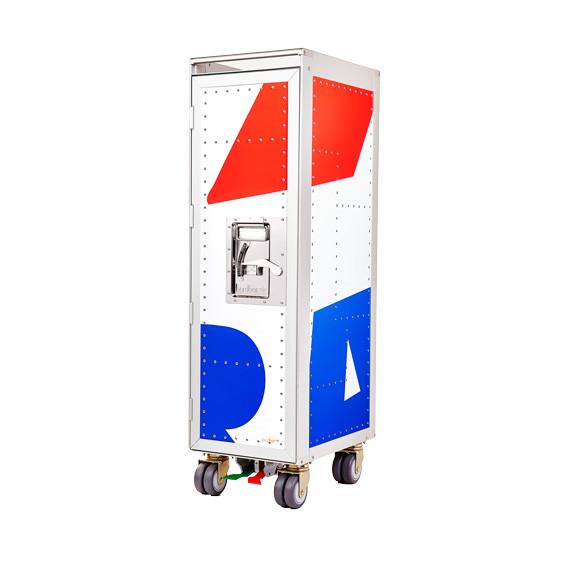 Bordbar Rivet Rocket Skin Trolley vogn, new