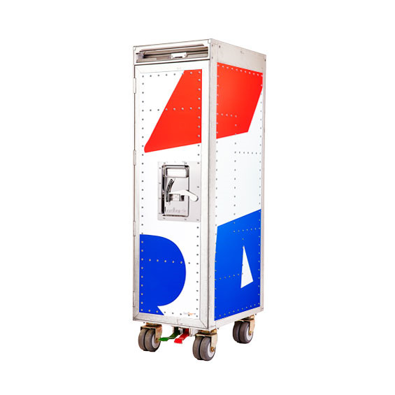 Bordbar Rivet Rocket Skin Trolley vogn, used