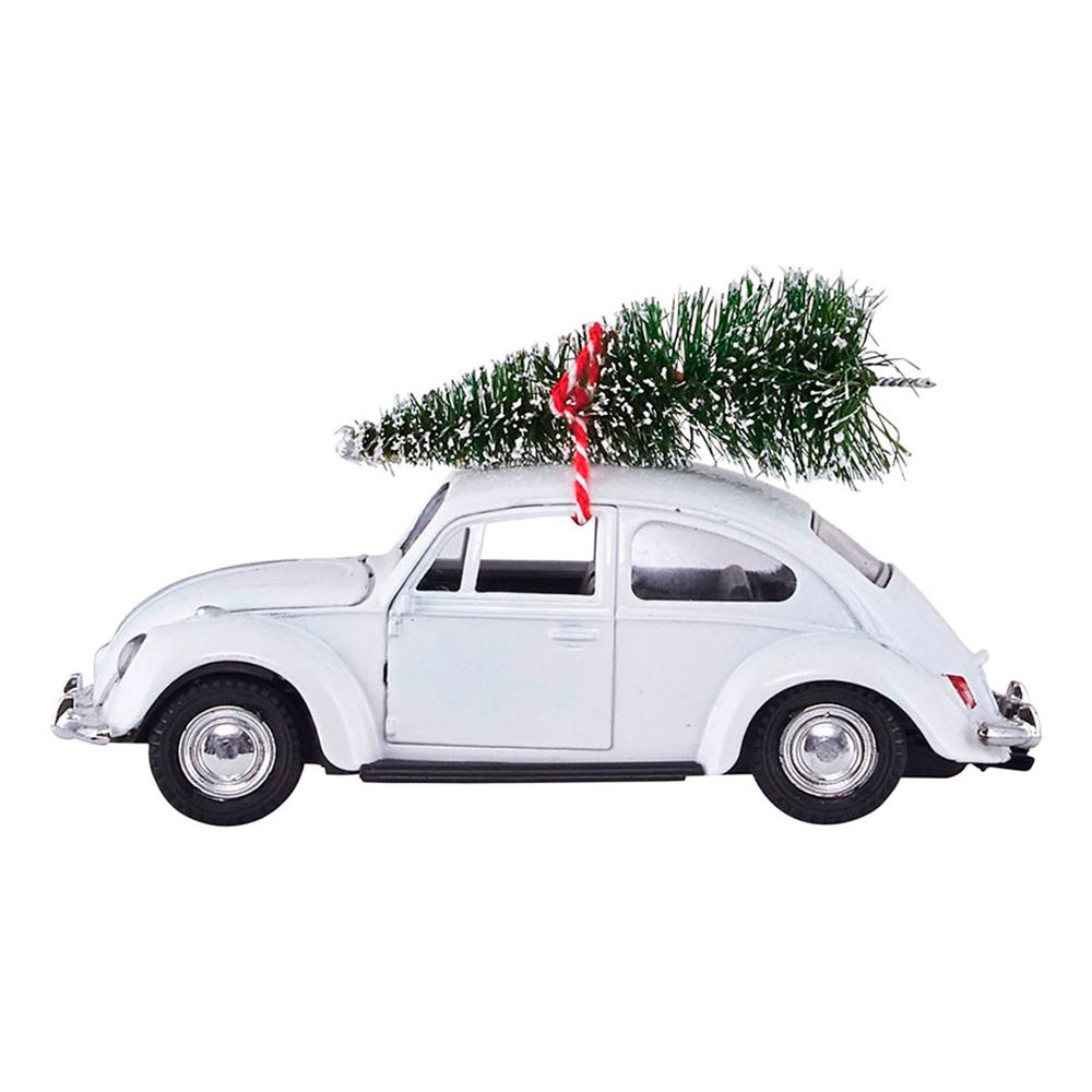 House Doctor XMAS Car julepynt m/juletræ, hvid