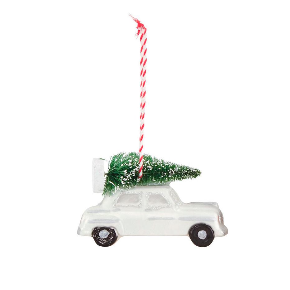 House Doctor Car  julepynt m/ juletræ,  lang