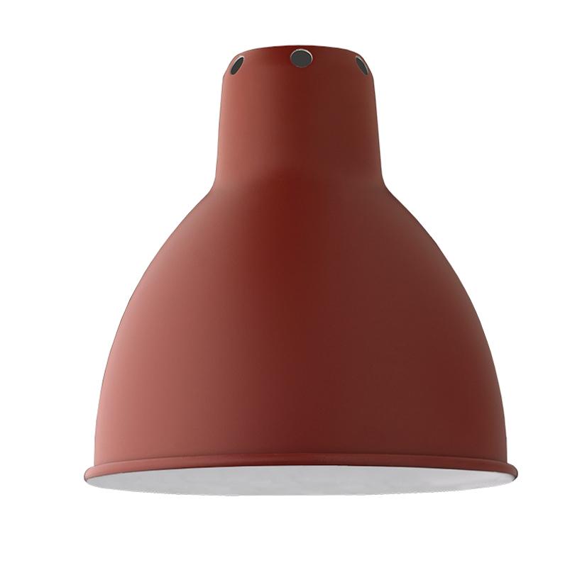 Lampe Gras Classic Round lampeskærm i rød, Ø14