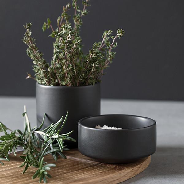 By Wirth Serve Me Bowl Skål, Dark grey