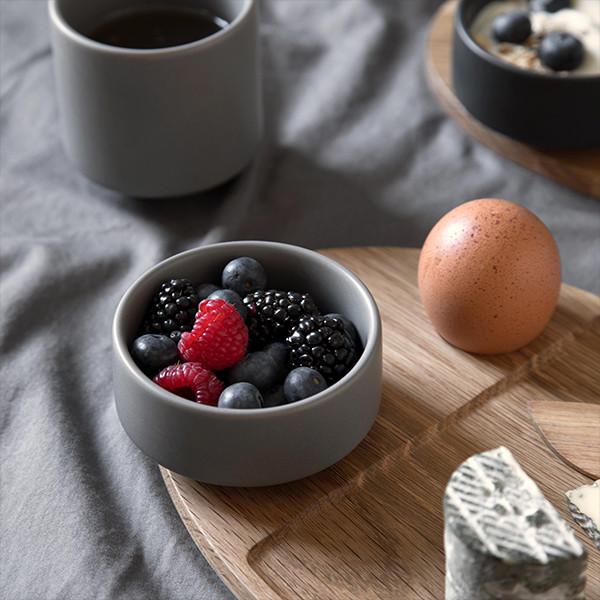 By Wirth Serve Me Bowl Skål, Cool grey