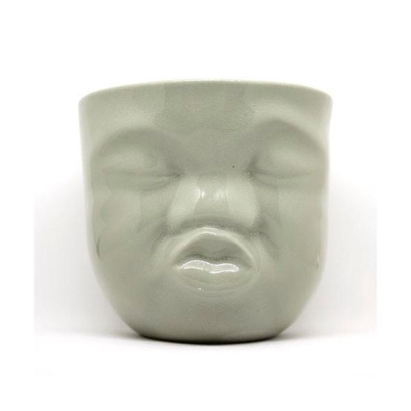 Livink kiss moodcup, Støvet grøn