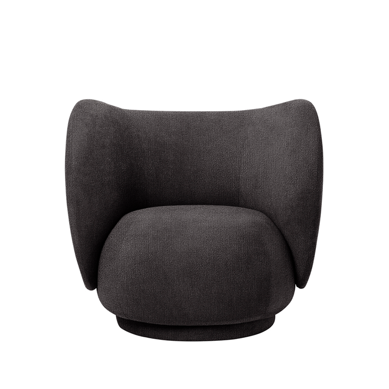 Ferm Living Rico Lounge Chair - Bouclé