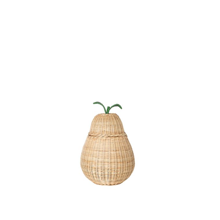Ferm Living Pear Braided Storage i small, förvaringskorg