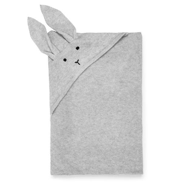 Liewood Willie Blanket tæppe Rabbit Solid