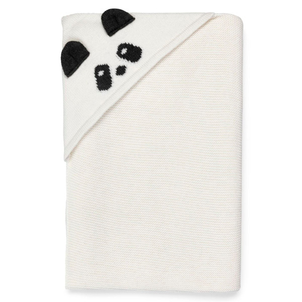 Liewood Willie Blanket  tæppe Panda solid