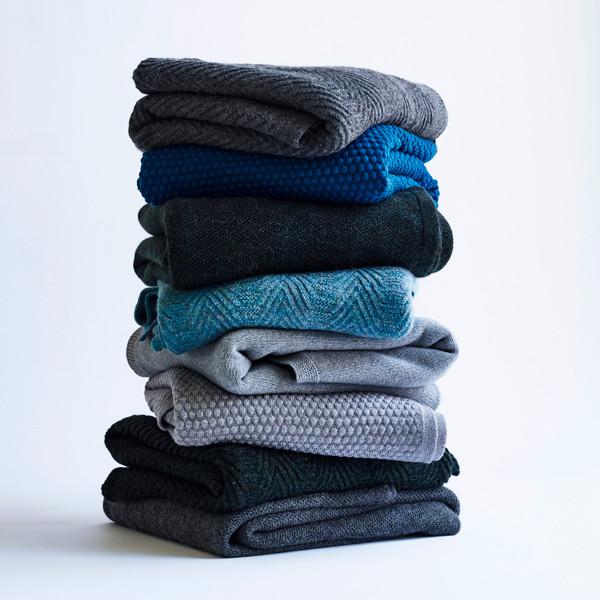 Louise Roe Pique Knit plaid, grå