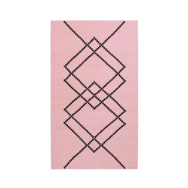 Louise Roe Rug Borg gulvtæppe, Rose