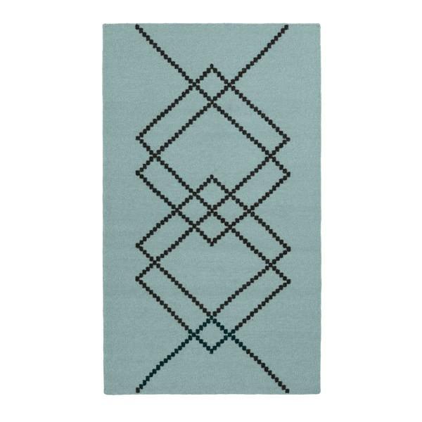 Louise Roe Rug Borg gulvtæppe 80x140 cm, Vintage Green